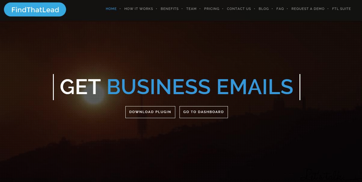 Find That Lead, consigue emails de negocios. Herramienta digital TOP