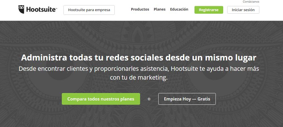 Hootsuite es la herramienta para gestionar todas tus redes sociales desde un único lugar
