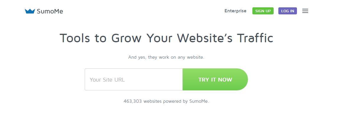SumoMe la herramienta para hacer crecer el tráfico de tu web